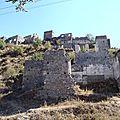 turquie : kayakoy village grec abandonné