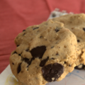 Cookies aux pépites de chocolat, sans blé