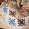 Le <b>patchwork</b> de Chantal