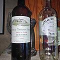 Saint Emilion : Troplong Mondot 2000 et Sauternes : Raymond-Lafon 2011