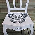 Chaise Butterfly