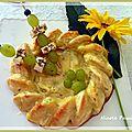 Alsace oblige, moelleux au munster, cumin et raisin blanc