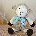 Doudou au crochet : dessine-moi un mouton