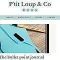 Le blog p'tit loup & co parle de notre livre