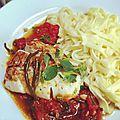 Cabillaud sauce vierge