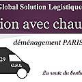 Location camion avec chauffeur Paris