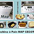 MERCI à CECOTEC pour cette MAP <b>MACHINE</b> A PAIN