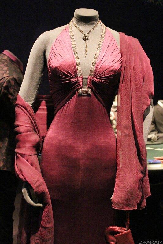 Vesper Lynd's (played by Eva Green) dress created by Roberto Cavalli. «Casino Royale» 2006. Photo: Olivier Daaram Jollant © 2016