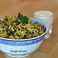 Riz et lentilles à la libanaise