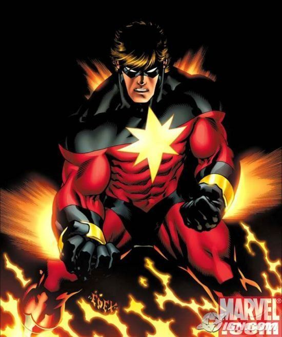 captain marvel homme