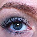 Make-up de mardi passé, j'ai nommé Le Bleu et Le Vert