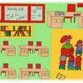 Atelier rentrée scolaire / tableau