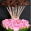Cœurs nantais chocolatés
