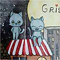 Art journal : la nuit tous les chats sont gris