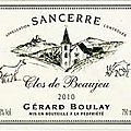 Gérard boulay (chavignol) ****
