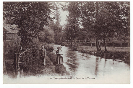 76 - TORCY LE GRAND - Bords de la Varenne