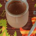 Petites crèmes-mousses chocolatées au lait avoine-amande, sans blé, sans lait, sans oeuf