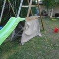 Tente pour toboggan
