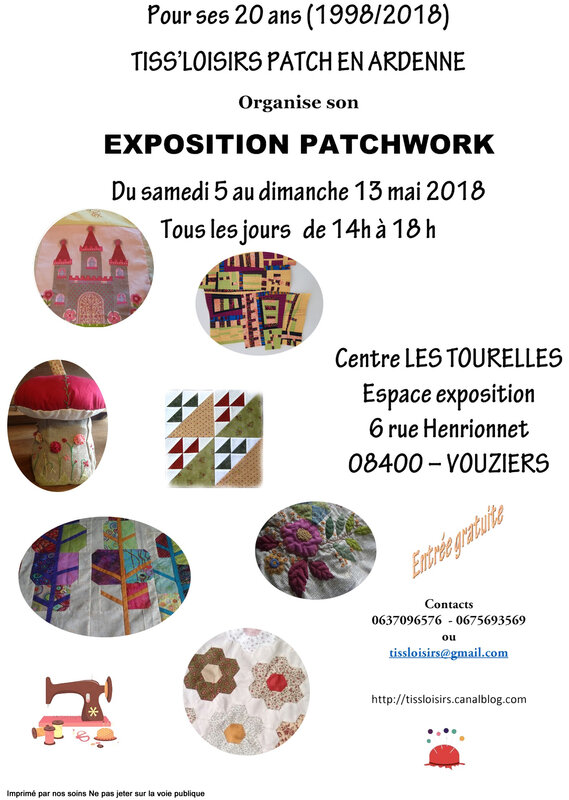 EXPOSITION PATCHWORK 2018 A4