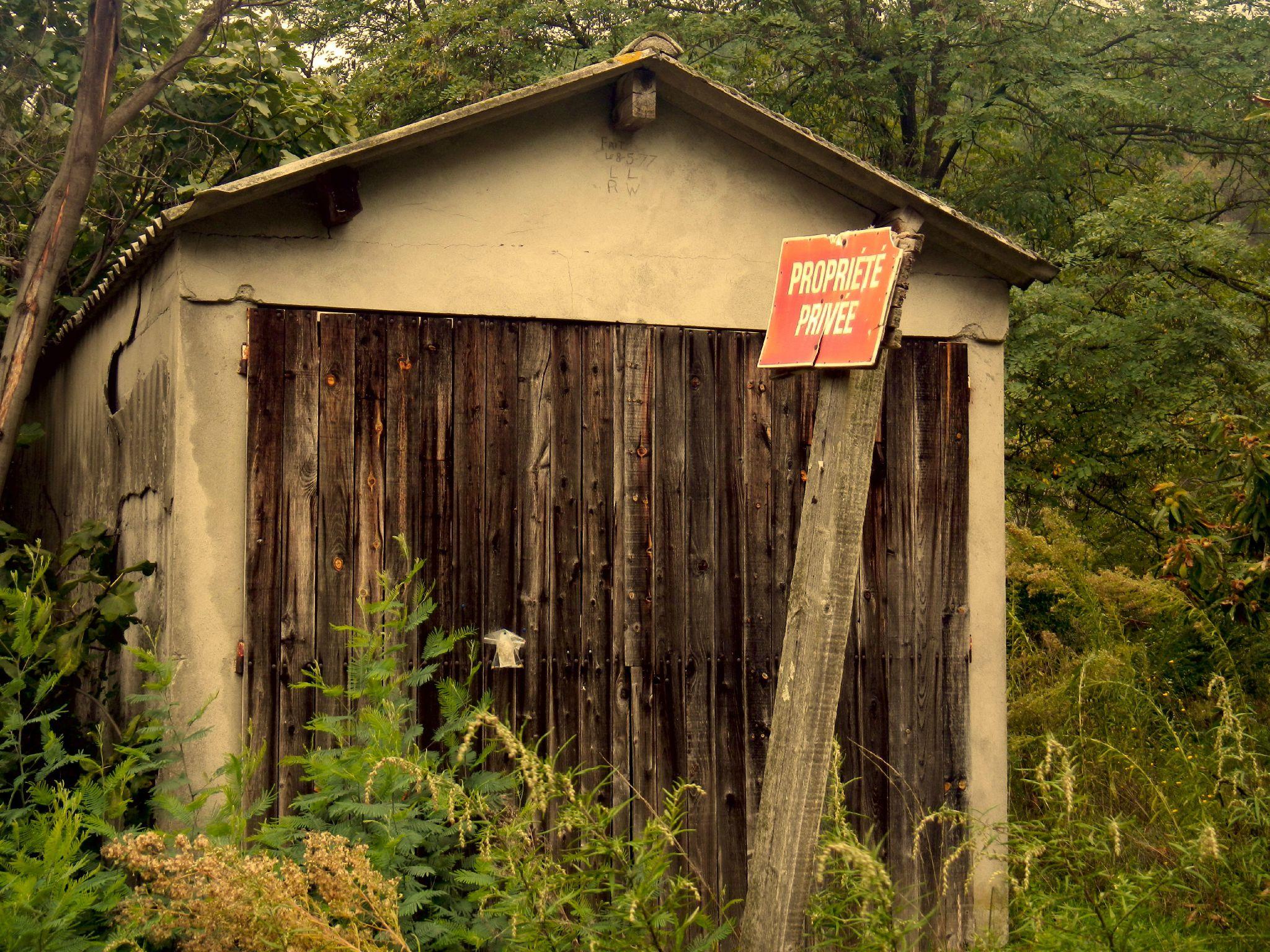 cabane privée
