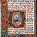 Ste Barbara lisant, KB76G9132 Bibl. Royale Pays-Bas