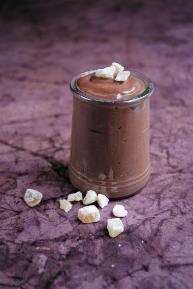 Crème au chocolat au tofu soyeux