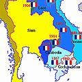 Les drapeaux de l'Indochine Française (1)