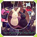 Lapina et lapinou vous souhaite un bon lundi de pâques !