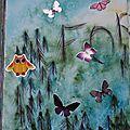 Challenge artjournal et gribouillages # 94 : forêt