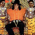 Eyewitness report on michael jackson's tour inside africa - jet, 16 mars 1992