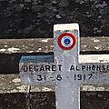 DEGARET Alphonse (Argenton sur Creuse) + 31/08/1917 Thra di Ligen (Macédoine)