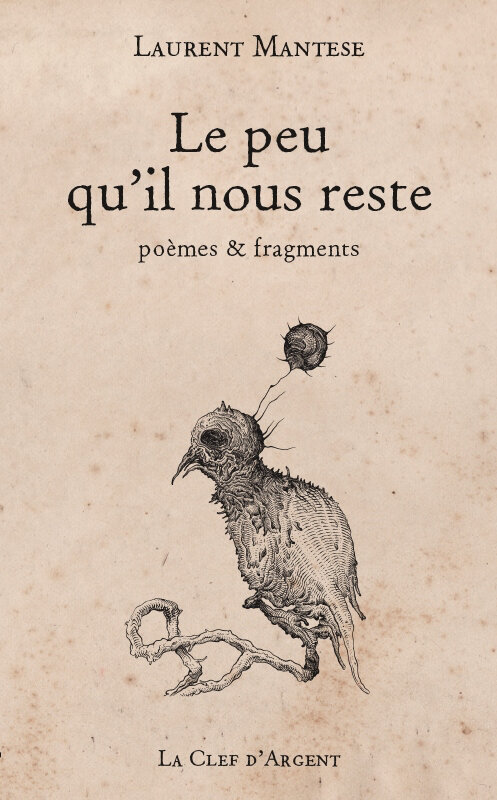 Coup de cœur : LE PEU QU'IL NOUS RESTE (recueil poétique)