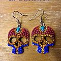 Skull & Strass multicolore 25 euros