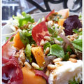 Déclinaison du melon en deux salades d'été !!