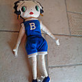 Cu1265 : Peluche Betty Boop