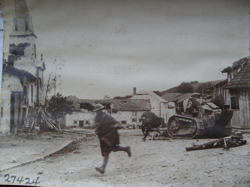 Photo guerre 1914 /1918 du Signal Corps.
