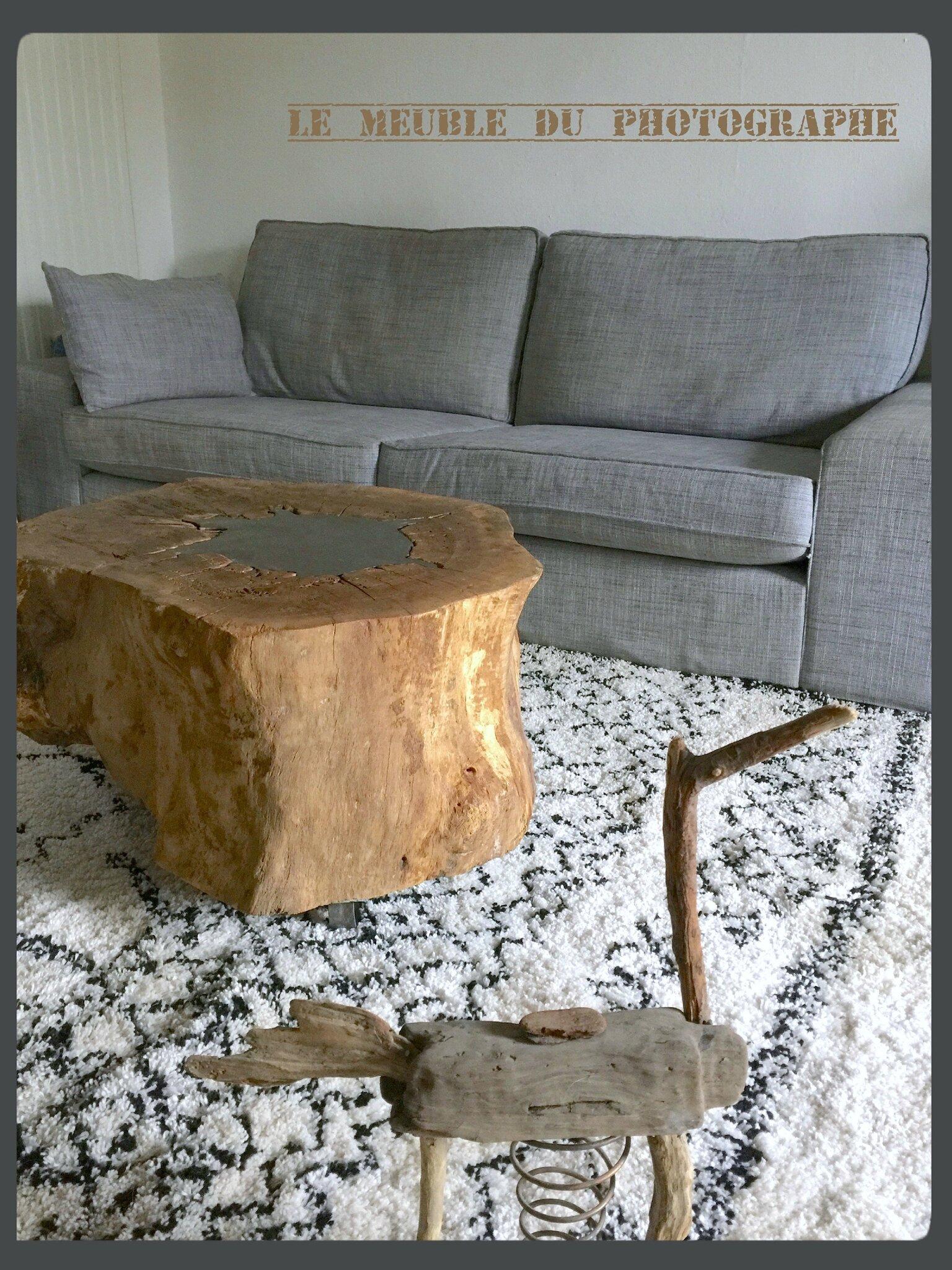 table tronc chene creux -lmdp