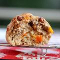 Baguette semi-complète aux noix et abricots moelleux