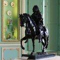 Louis XIV à cheval (l'original est à Versailles)