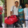 encore superbe accueil de Siti, Dan et Syamil de Penang