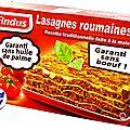 Les nouvelles lasagnes findus