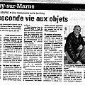 Article paru dans la marne du 10 avril 2013