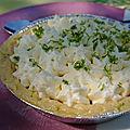 Key lime pie ou tarte au <b>citron</b> <b>vert</b>
