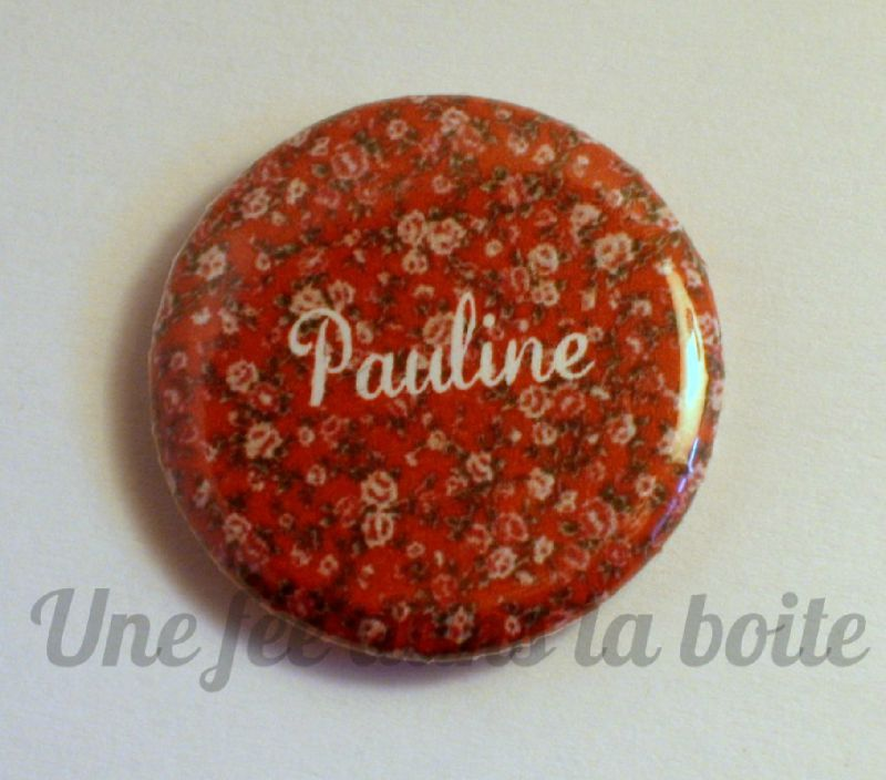 A-Badge liberty rouge