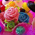 Bouquet de fleurs en bonbons (tuto) {diy}