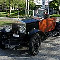 Rolls royce 20/25 hp boat tailed tourer-1930