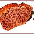 Cake au chocolat : the tuerie !!!