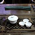 Préparation au gaïwan (zhong)