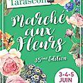 Marché au fleurs tarascon