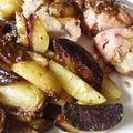 épaule d'agneau aux épices - pommes de terre sautées